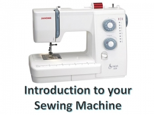Intro to Sew Machine